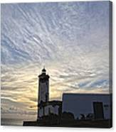 Lighthouse Maria Pia Canvas Print