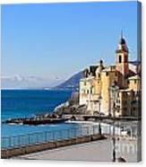 Liguria . Camogli Canvas Print