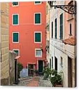 Liguria - Sori Canvas Print