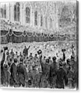 Lincoln Assassination, 1865 Canvas Print