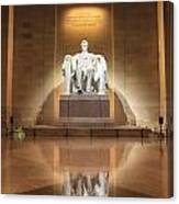 Washington Dc - Lincoln Memorial Canvas Print