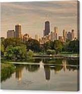 Lincoln Park Lagoon Chicago Canvas Print