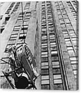 Lindbergh Beacon Hoisted Up Canvas Print