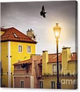 Lisbon Houses Canvas Print