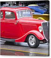Little Red Coup Canvas Print