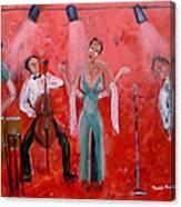 Live Jazz Canvas Print