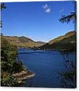 Loch Duich Scotland Canvas Print