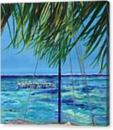 Lokal Flava Caye Caulker Belize Canvas Print