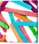 Lollipop Sticks Canvas Print