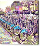 London Bikes Canvas Print