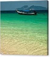 Longboat Asia Canvas Print