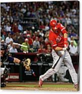 Los Angeles Angels Of Anaheim V Arizona 1 Canvas Print