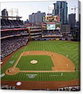 Los Angeles Dodgers V. San Diego Padres Canvas Print