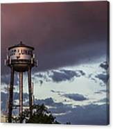 Los Lunas Water Tower Canvas Print