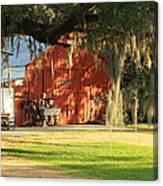 Louisiana Barn Canvas Print