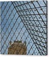 Louvre In Paris France Canvas Print