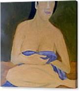 Lovely Lady Canvas Print