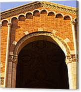 Low Angle View Of Royce Hall Canvas Print