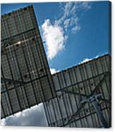 Low Angle View Of Solar Panels Canvas Print