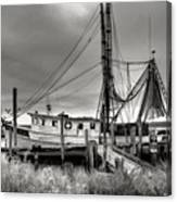 Lowcountry Shrimp Boat Canvas Print