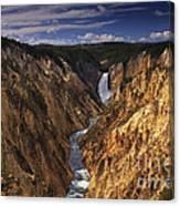 Lower Yellowstone Falls II Canvas Print