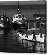 Lynmouth Harbour In Devon Canvas Print