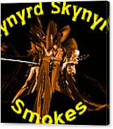 L S Smokes Canvas Print