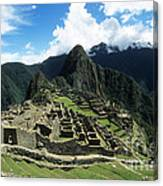 Machu Picchu Panorama Canvas Print