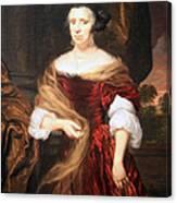 Mae's Portrait Of A Lady Canvas Print