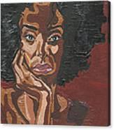 Mahogany Canvas Print