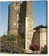 Maidens Tower In Baku Azerbaijan Canvas Print