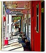 Main Street Locke California Canvas Print