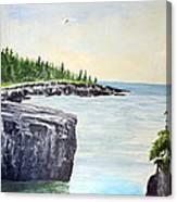 Maine Coast Canvas Print
