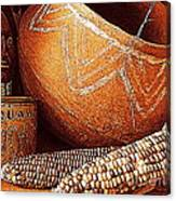 New Orleans Maize The Indian Corn Still Life In Louisiana  Canvas Print