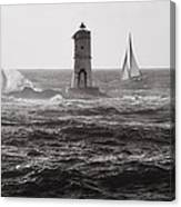 Mangiabarche's Lighthouse Canvas Print