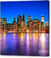Manhattan - New York City Canvas Print