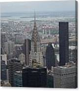 Manhattan From The Empire State Building Canvas Print