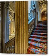 Mansion Stairway Canvas Print