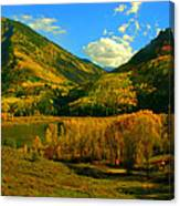 Marble Valley Canvas Print