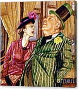 Margaret And W.c. Fields Canvas Print
