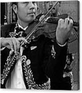 Mariachi-violin Canvas Print