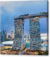Marina  Bay Sands - Singapore Canvas Print