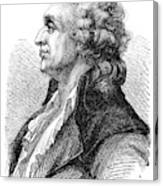 Marquis De Condorcet (1743-1794) Canvas Print