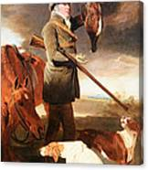 Marshall's J G Shaddick -- The Celebrated Sportsman Canvas Print