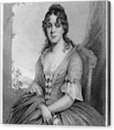 Martha Jefferson Randolph (1772-1836) Canvas Print