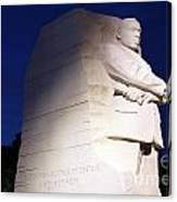 Martin Luther King Memorial Canvas Print