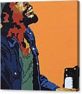 Marvin Gaye Canvas Print