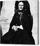 Mary Todd Lincoln (1818-1882) Canvas Print
