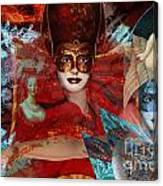 Mascarade Canvas Print