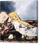 Mata Hari (1876-1917) Canvas Print